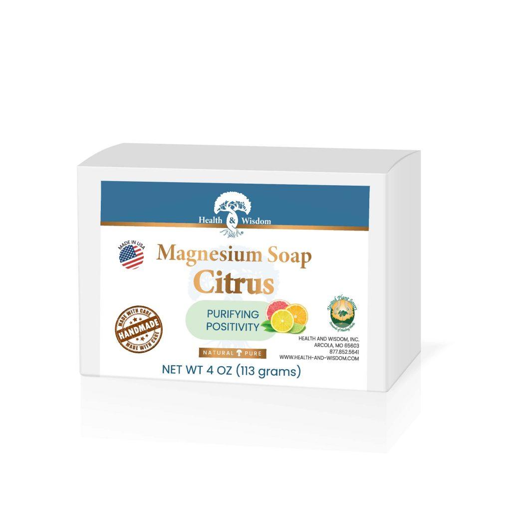 HealthWisdom - Magnesium Soap-Citrus